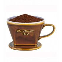 寶馬牌Pearl Horse 扇形陶瓷咖啡濾器(1-4人)