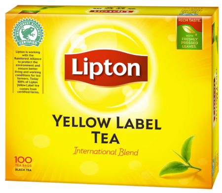 立頓紅茶【黃牌精選】(2g x 100入)
