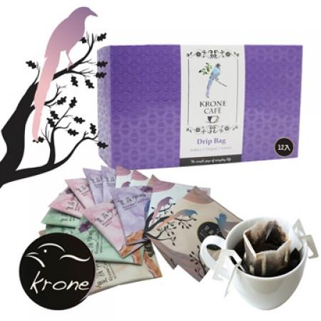 【Krone皇雀】掛耳式咖啡 綜合裝 12包 (六種口味)
