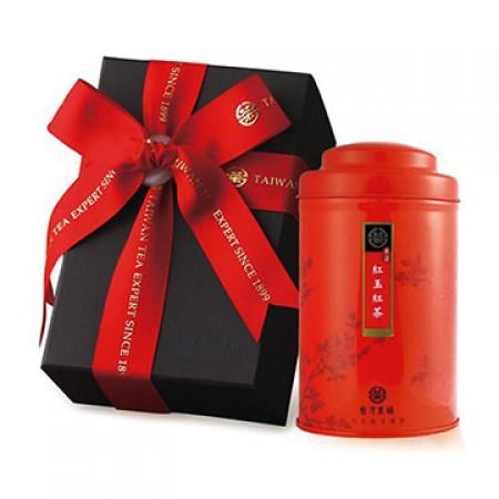 【台灣農林】嚴選阿薩姆紅茶 (台茶八號) 玉石禮盒 單罐