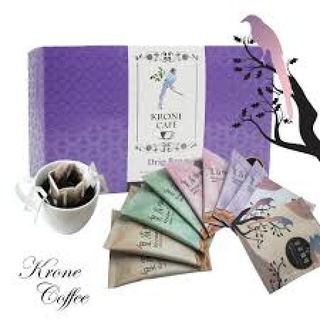 [Krone皇雀] 阿拉比卡濾掛式手沖咖啡 10入盒組x4盒(限時下殺優惠)