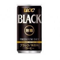 【日本UCC】BLACK無糖黑咖啡飲料185g(15入)