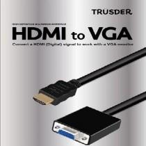 TRUSDER HDMI to VGA轉接頭 TD-HDMI-V