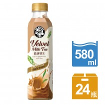 伯朗絲絨奶茶 (580ml*24入/箱)-平均每入$19