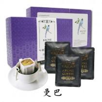 【Krone皇雀】曼巴 掛耳式咖啡 10g/包