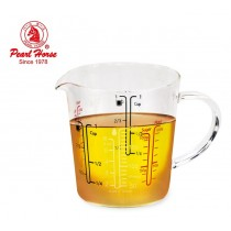寶馬牌Pearl Horse 玻璃刻度料理杯200ml TA-G-05-200